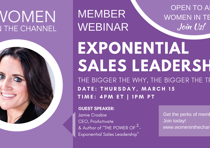 Exponential Sales Leadership – The Bigger the Why, The Bigger the Try