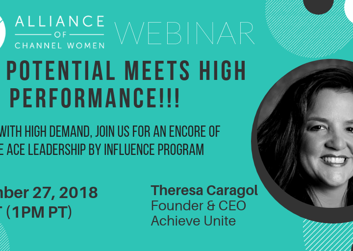 High Potential Meets High Performance – September 27th Conference Call
