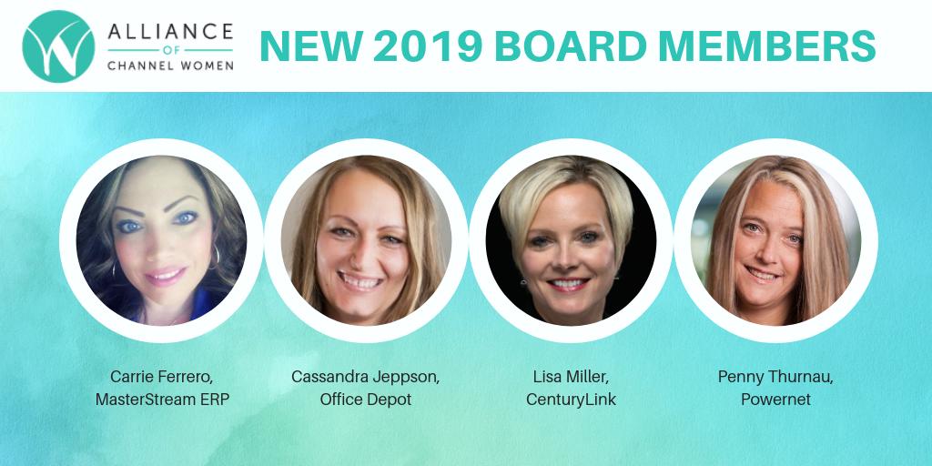 New ACW 2019 Board Members