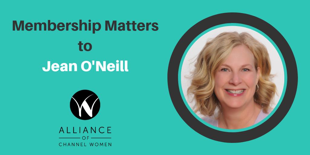 Membership Matters Jean O'Neill