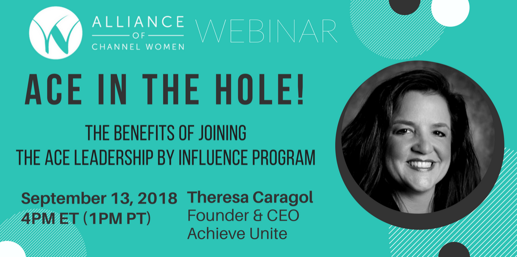 ACE program for the alliance of channel women
