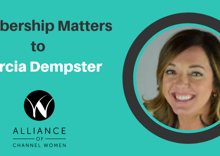 Why ACW Membership Matters to Marcia Dempster