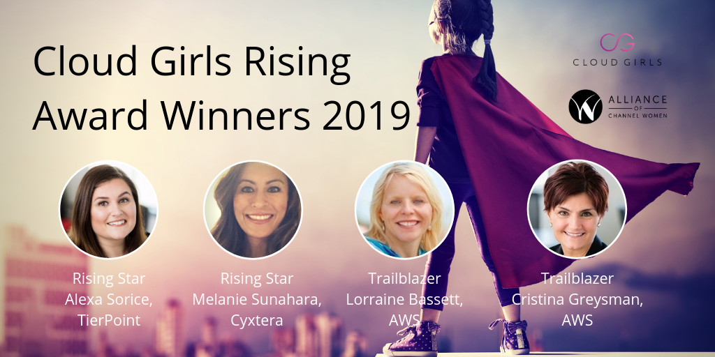 Cloud Girls Rising 2019 Winners