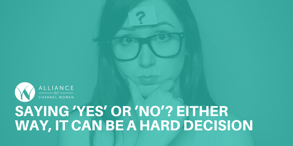 Saying 'Yes' or 'No'? Either Way, It Can Be a Hard Decision