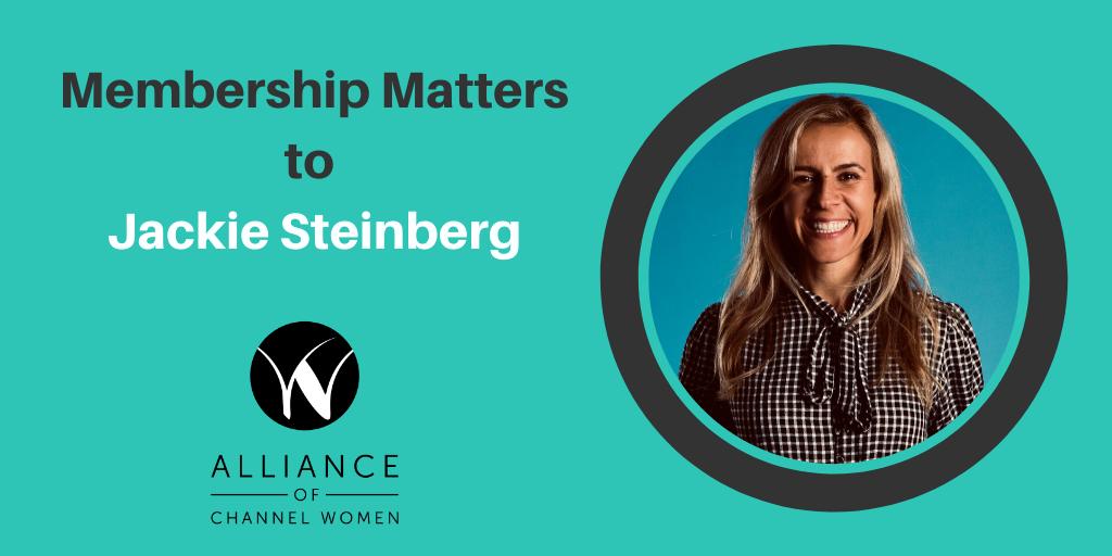 Why Membership Matters to Jackie Steinberg Blog Banner