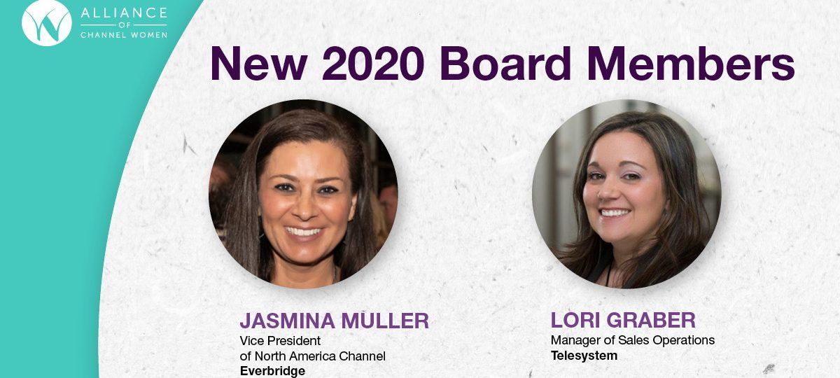 Alliance of Channel Women Elects Two New Board Directors