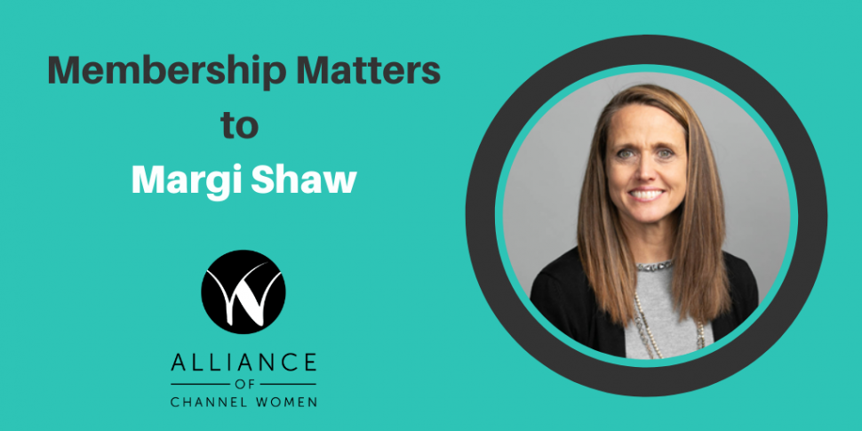 Membership Matters to Margi Shaw