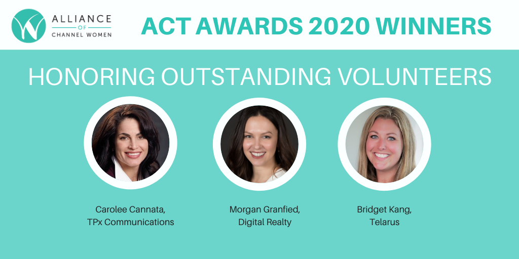Alliance of Channel Women Thanks Outstanding Volunteers with 2020 ACT Awards