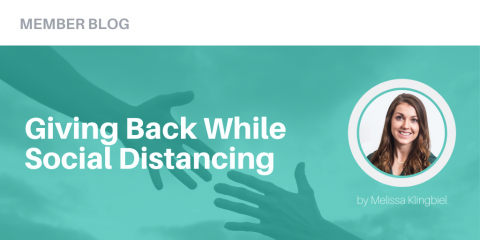 Giving Back While Social Distancing
