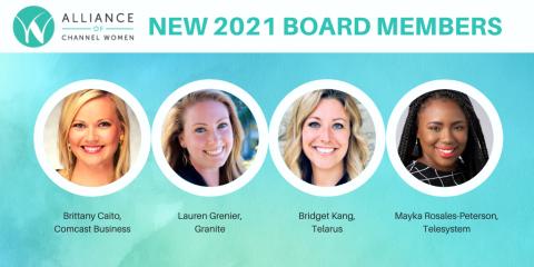 Alliance of Channel Women New Board Members 2021