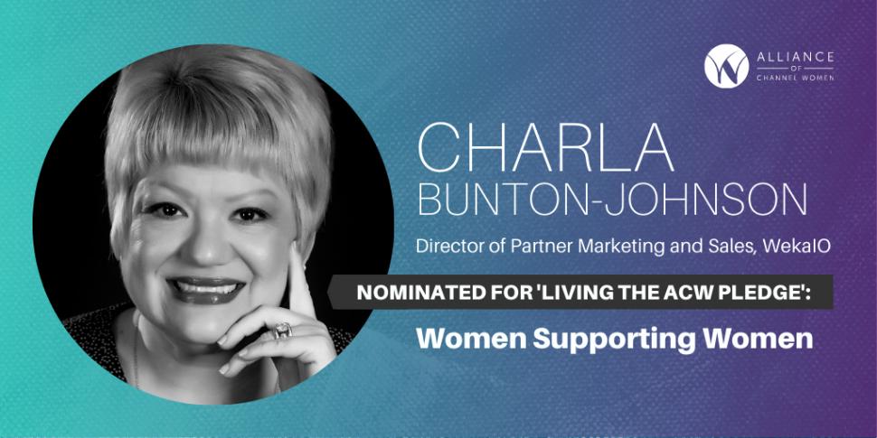 Living the Pledge Charla Bunton-Johnson