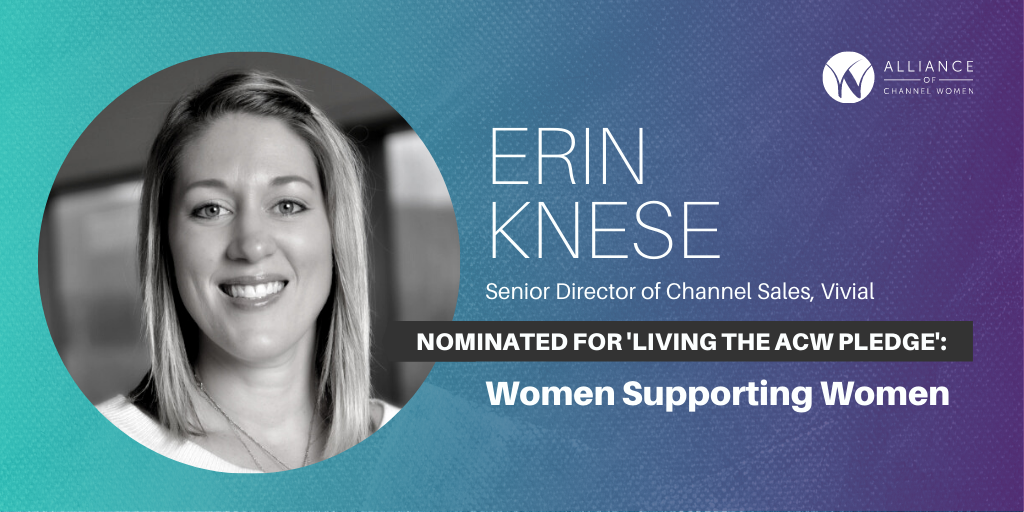 How Erin Knese is Living the ACW Pledge: Women Supporting Women