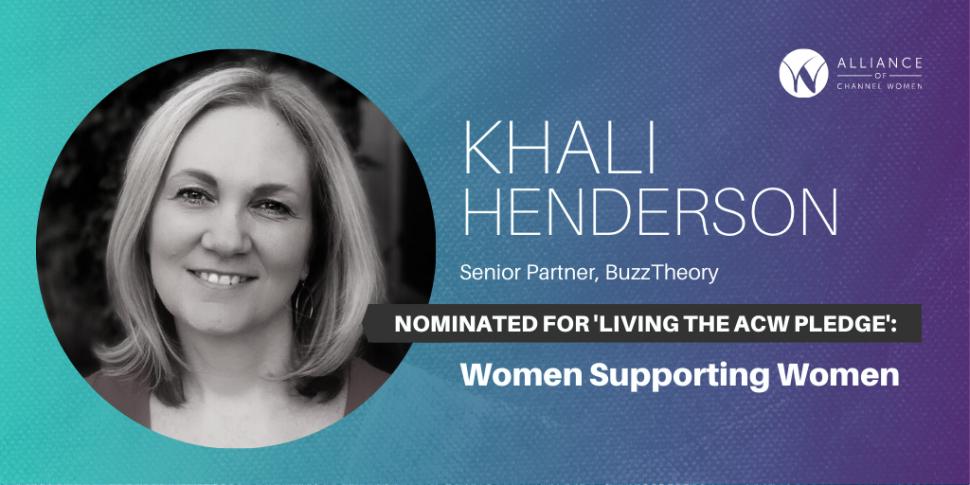 Khali Henderson is Living the Pledge