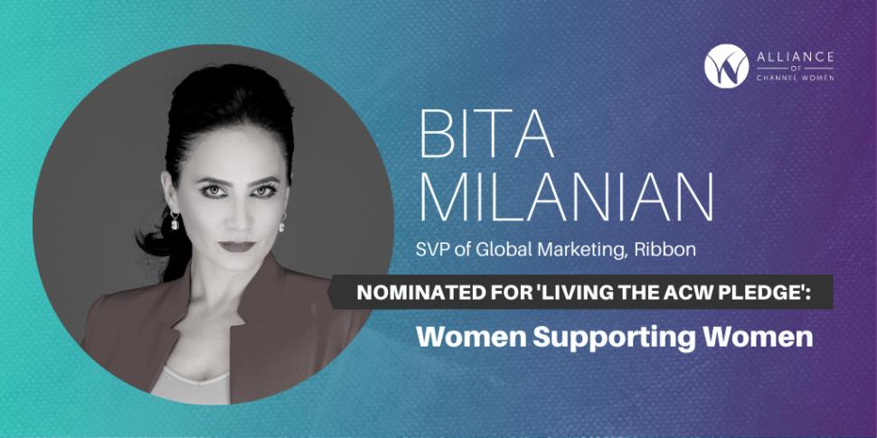 Bita Milanian is Living the ACW Pledge