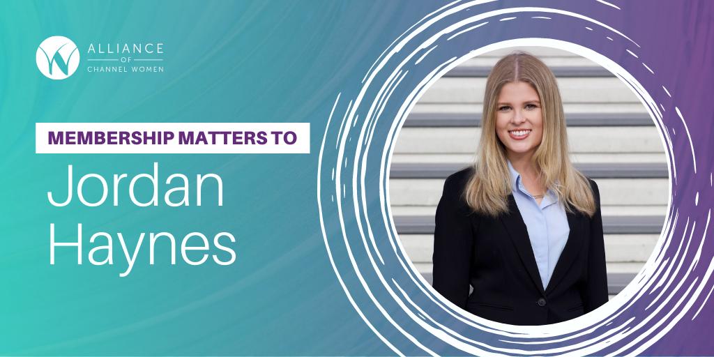 Membership Matters to Jordan Haynes