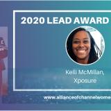 Lead Award Winner Kelli McMillan