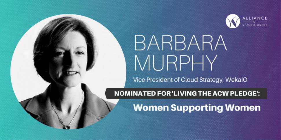 Barbara Murphy is Living the ACW Pledge