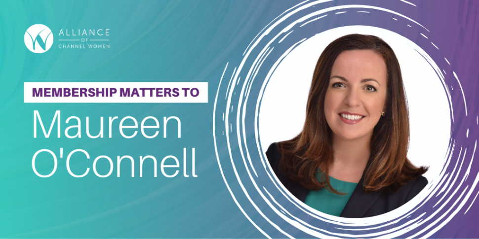 Membership Matters to Maureen O'Connell