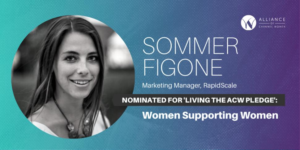 Sommer Figone is Living the Pledge