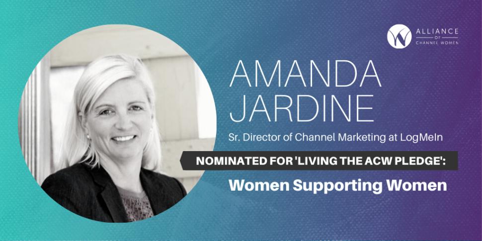 Amanda Jardine is Living the ACW Pledge