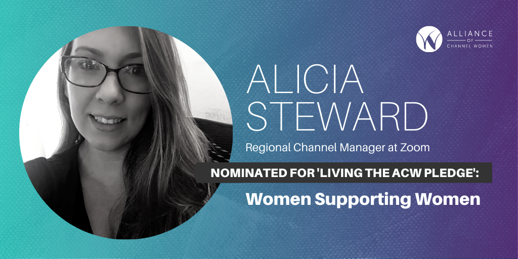 Alicia Steward is Living the ACW Pledge