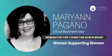 Maryann Pagano of BlackHawk Data is Living the Pledge