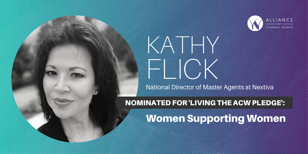 How Kathy Flick is Living the ACW Pledge: Women Supporting Women