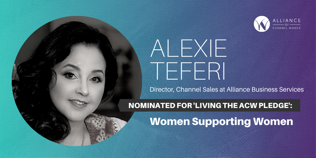 How Alexie Teferi is Living the ACW Pledge: Women Supporting Women